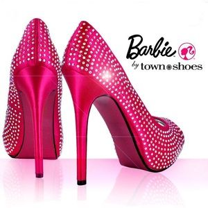 Barbie by Town shoes hot pink heels size 39